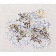 """Набор для вышивания крестом Thea Gouverneur """"Маленькие ангелы"""""""