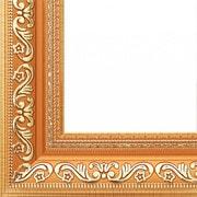 """Аксессуары Белоснежка """"Jasmine"""" (Коричневый + золотой) Багетная рама 30*40"""