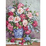 """Набор для вышивания крестом Luca-S """"Её Величество - Розы"""""""