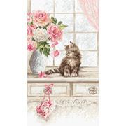 """Набор для вышивания крестом Letistitch """"Kitten"""""""