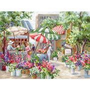 """Набор для вышивания крестом Letistitch """"Flower Market"""""""