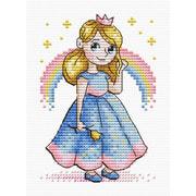 """Набор для вышивания крестом М.П. Студия """"Принцесса"""""""