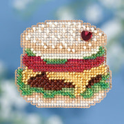 "Набор для вышивания бисером MILL HILL ""Гамбургер"""