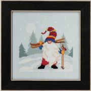 """Набор для вышивания крестом MILL HILL """"Гном - лыжник"""""""