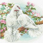 """Набор для выкладывания мозаики Риолис """"Белые голуби"""""""