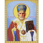 """Канва/ткань с нанесенным рисунком Каролинка """"святой Николай"""""""
