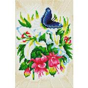"""Набор для выкладывания мозаики Белоснежка """"Бабочка в ботаническом саду"""""""