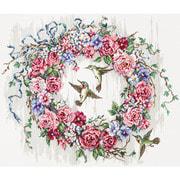 """Набор для вышивания крестом Letistitch """"Hummingbird Wreath"""""""