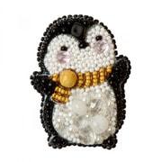 """Набор для вышивания бисером Crystal Art """"Пингвин"""""""