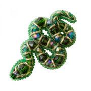 """Набор для вышивания бисером Crystal Art """"Змея"""""""