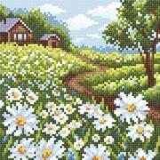 """Набор для выкладывания мозаики Brilliart (от МП Студии) """"Ромашковое поле"""""""