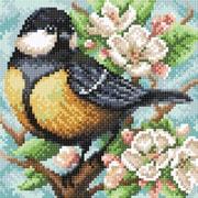 """Набор для выкладывания мозаики Brilliart (от МП Студии) """"Синица на яблоне"""""""