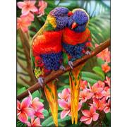 """Набор для выкладывания мозаики Алмазная живопись """"Лори в джунглях"""""""