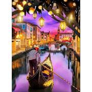 """Набор для выкладывания мозаики Алмазная живопись """"Венецианский закат"""""""