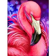 """Набор для выкладывания мозаики Алмазная живопись """"Яркий фламинго"""""""