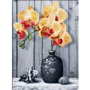 """Набор для выкладывания мозаики Алмазная живопись """"Орхидея на мраморе"""""""