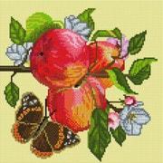 """Набор для выкладывания мозаики Белоснежка """"Яблоки на ветке"""""""
