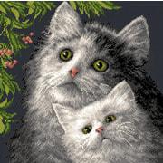 """Набор для вышивания крестом Матрёнин посад """"Котята"""""""