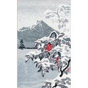"""Набор для вышивания крестом Овен """"Зимний пейзаж с рябиной"""""""