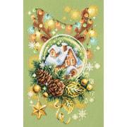 """Набор для вышивания крестом Чудесная игла """"Светлое Рождество"""""""