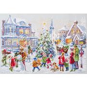 """Набор для вышивания крестом Чудесная игла """"Накануне Рождества"""""""