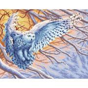 """Набор для выкладывания мозаики Brilliart (от МП Студии) """"Полярная сова"""""""