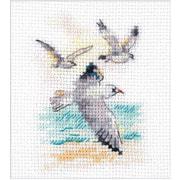 """Набор для вышивания крестом Алиса """"Ветер с моря. Чайки"""""""