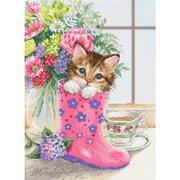 """Набор для вышивания крестом Luca-S """"Симпатичный котёнок"""""""
