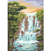 """Набор для выкладывания мозаики Brilliart (от МП Студии) """"Крутой водопад"""""""