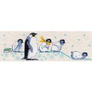 """Набор для вышивания крестом Риолис """"Пингвинчики"""""""