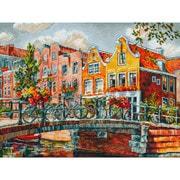 """Набор для вышивания крестом Белоснежка """"Амстердам. Мост через канал"""""""