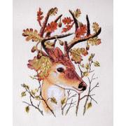 """Набор для вышивания крестом Марья искусница """"Лесной олень"""""""