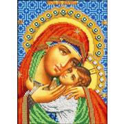"""Набор для вышивания крестом Вышиваем бисером """"Касперовская икона Божией Матери"""""""