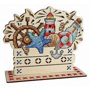 """Набор для вышивания крестом Щепка """"Морские сокровища"""""""