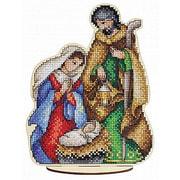 """Набор для вышивания крестом Щепка """"Святое семейство"""""""