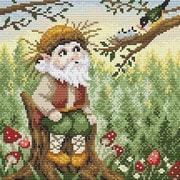 """Набор для выкладывания мозаики Brilliart (от МП Студии) """"Хозяин леса"""""""