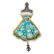 """Набор для вышивания бисером Crystal Art """"Платье"""""""