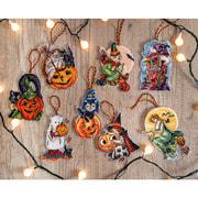 """Набор для вышивания крестом Luca-S """"Halloween Toys Kit"""