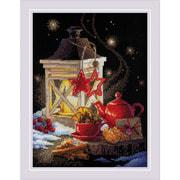 """Набор для вышивания крестом Риолис """"Зимний чай"""""""