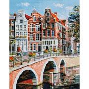 """Набор для выкладывания мозаики Белоснежка """"Императорский канал в Амстердаме"""""""
