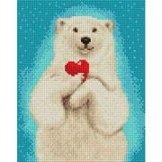 """Набор для выкладывания мозаики Белоснежка """"Горячее сердце"""""""
