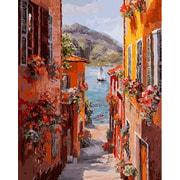 """Набор для раскрашивания Белоснежка """"Италия. Вид на озеро Комо"""""""
