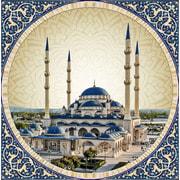 """Набор для выкладывания мозаики Алмазная живопись """"Мечеть сердце Чечни"""""""