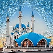 """Набор для выкладывания мозаики Алмазная живопись """"Мечеть Кул-Шариф"""""""