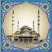 """Набор для выкладывания мозаики Алмазная живопись """"Мечеть Коджатепе"""""""