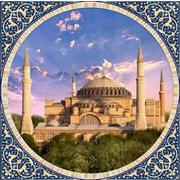 """Набор для выкладывания мозаики Алмазная живопись """"Мечеть Айя София в Стамбуле"""""""