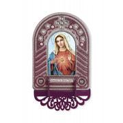 """Набор для вышивания бисером Nova sloboda """"Непорочное Сердце Марии"""""""