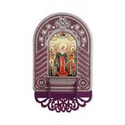"""Набор для вышивания бисером Nova sloboda """"Богородица Всех Скорбящих Радость"""""""