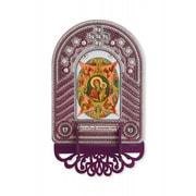 """Набор для вышивания бисером Nova sloboda """"Богородица Неопалимая Купина"""""""
