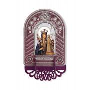 """Набор для вышивания бисером Nova sloboda """"Богородица Неувядаемый цвет"""""""